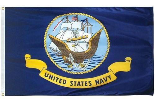 Nylon Navy Flag | Liberty Flagpoles