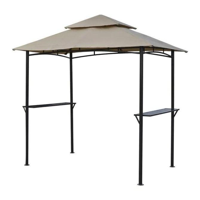 canopy for 2 5m x 1 5m patio gazebo two tier