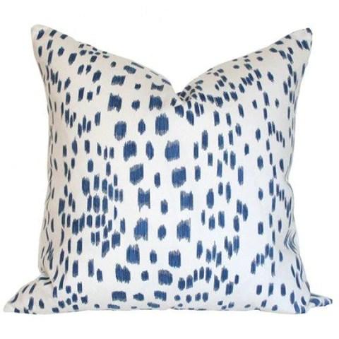blue white throw pillows online