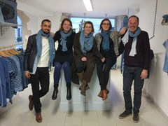 Collaboration Fibre Bio Bleu de Lectoure