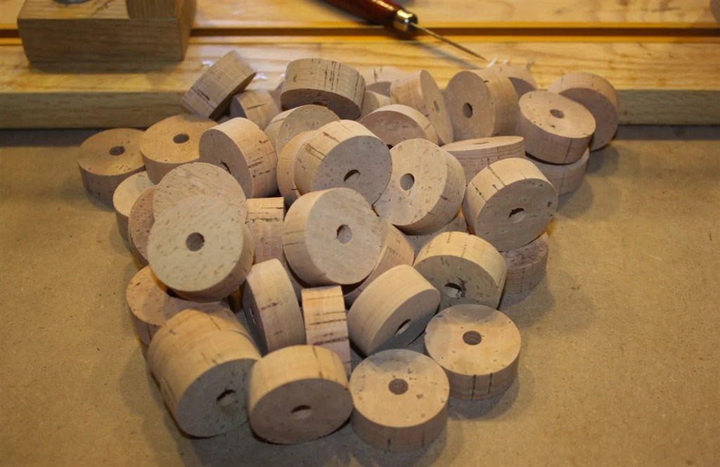 Flor Grade Cork Rings For Rod Building. These Rings Are