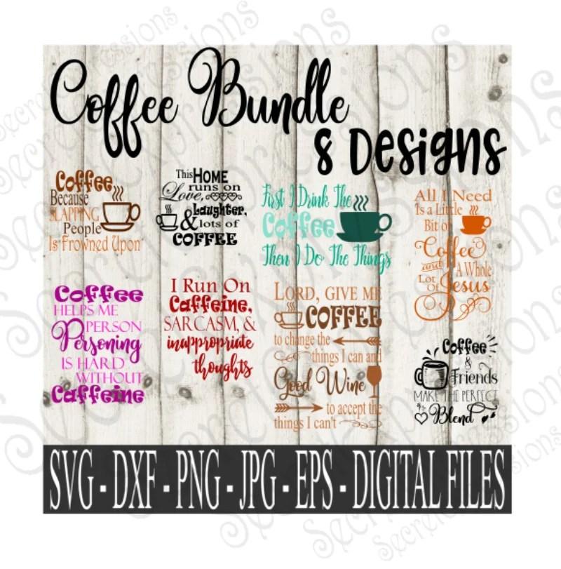 Download Coffee SVG Bundle, Pet Digital File, SVG, DXF, EPS, Png ...