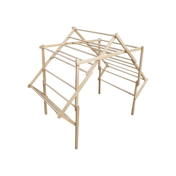 wooden clothes drying rack the grandad