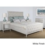 Hannah Tufted Bedroom Set Queen White Hipbeds Com