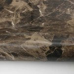 Marble Contact Paper Peel Stick Dark Brown Glossy 24 X 78 7 Roll Royalwallskins