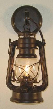 western small rustic lantern wall sconce 10