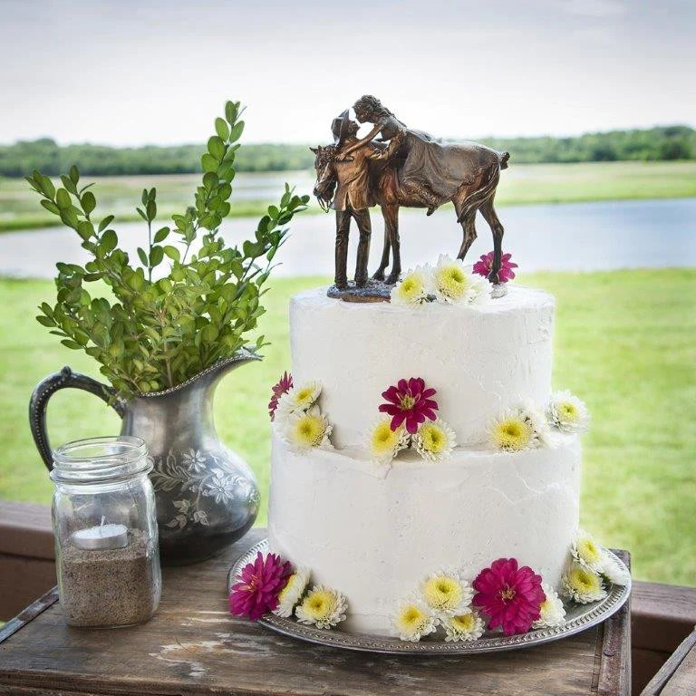 First Love Western Wedding Cake Topper B5220024 Wild