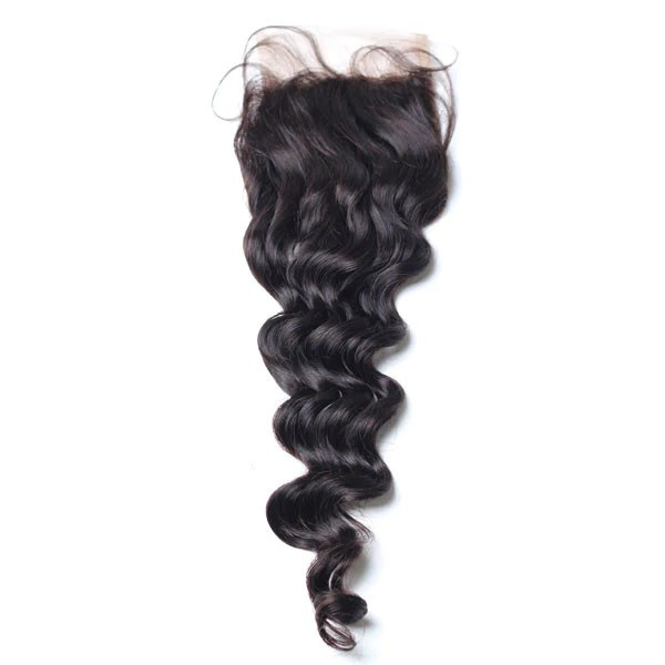 Luxury 10A Loose Wave Lace Closure Dansin Hair
