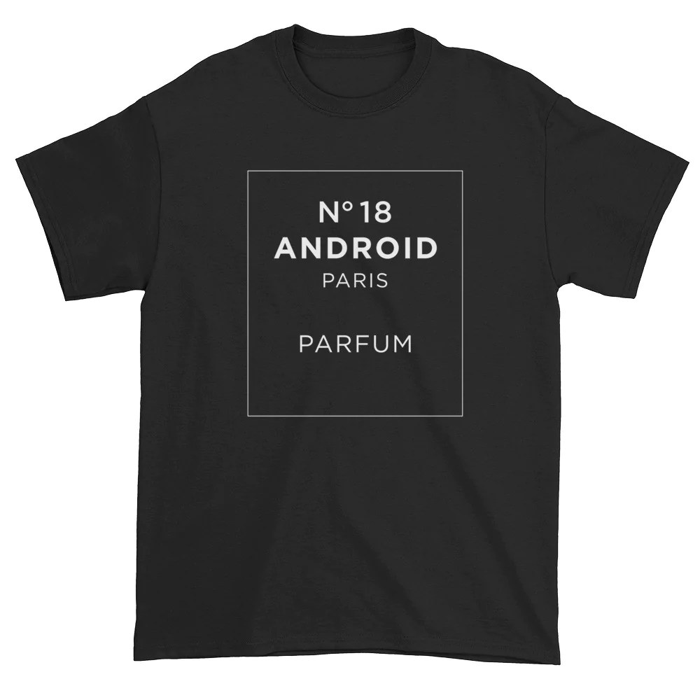 "Download ""Android 18 Parfum"" Tee (black) - YaBoyRoshi"