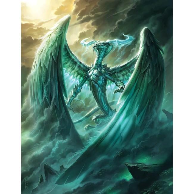 Ugin, the Spirit Dragon Print - Original Magic Art