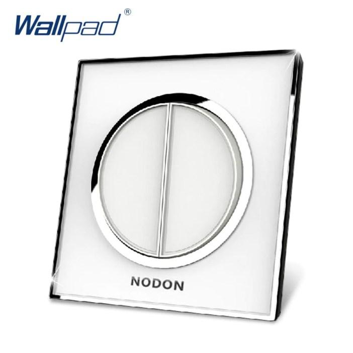 Hot Manufacturer Wallpad Push Button Luxury Arylic Mirror