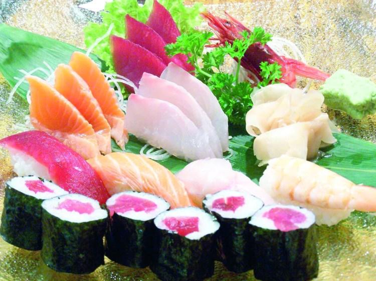 Surtidos de sushi