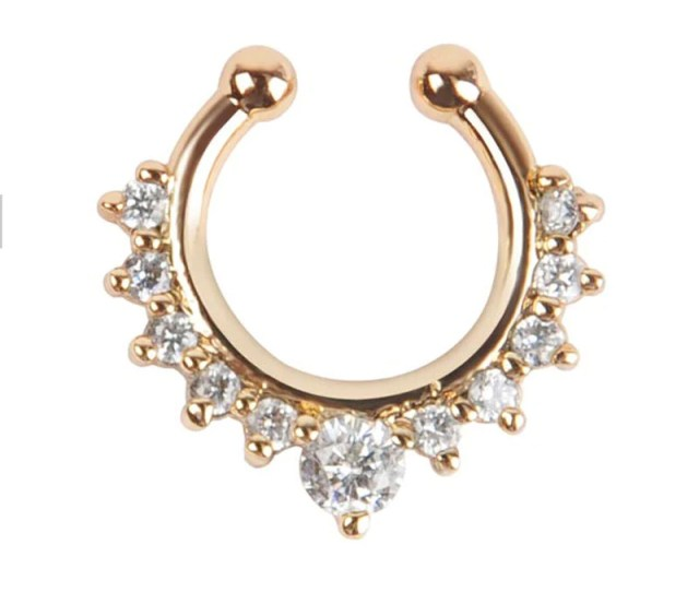 Body Jewellery 1piece Body Jewelry Gold Color Crystal Decoration Nose Online Jewellery Shop