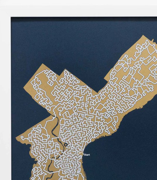 HD Decor Images » Gold San Francisco Print 12X12 Gold Map San Francisco City Map Art      0 00