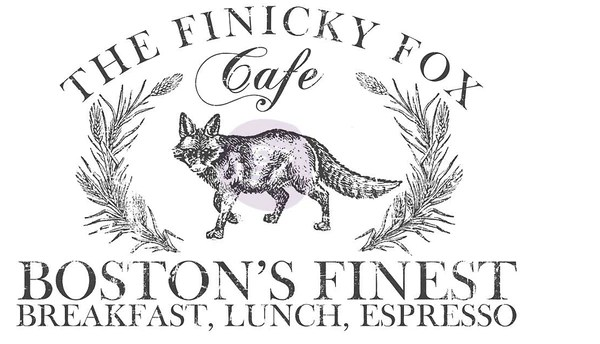 IOD - Decor Transfer - FINICKY FOX – The Chippy Barn