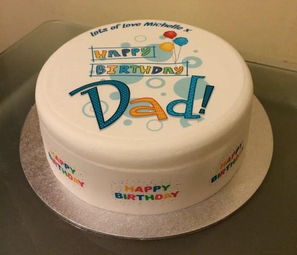 Birthday Easy Dad Cakes