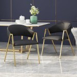 Modern Upholstered Dining Chair Set Of 2 Nh781113 Noble House Furniture