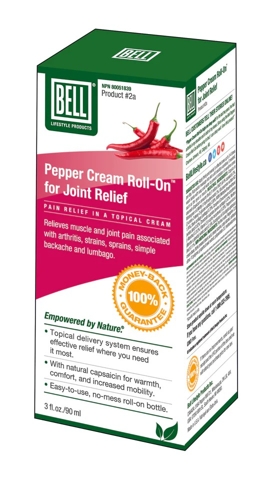 5643d616a3f2ba Bell Product  2a  Pepper Cream Roll-On For Joint Relief – Pistachios ...