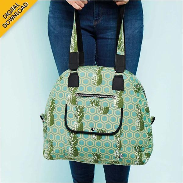 Image result for Digital Download | Carry-on Bag Pattern by Debbie von Grabler-Crozier