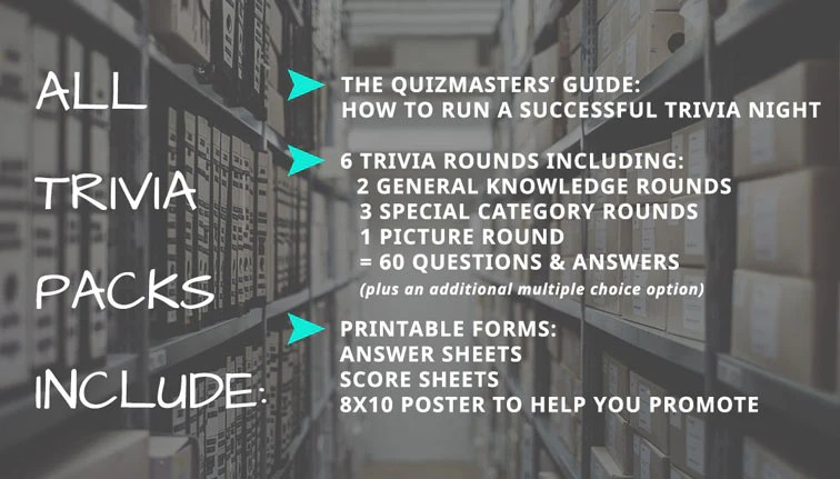 graphic about 80's Trivia Questions and Answers Printable referred to as Mega Rad 80s Quiz The Quizmasters