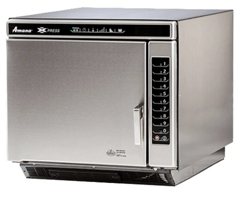 amana xpress ace high speed oven with convection microwave 10
