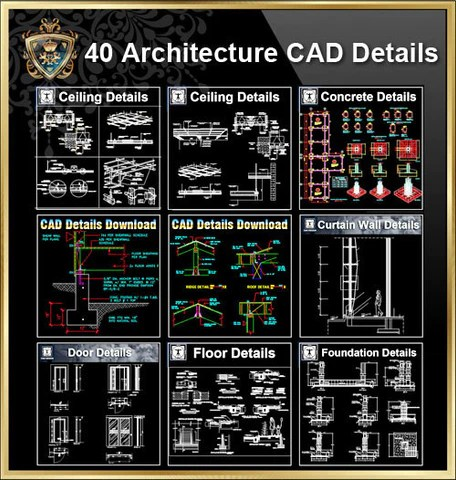 https://www.cadblocksdownload.com/collections/architecture-details/products/all-architecture-cad-details-collections-total-40-best-collections