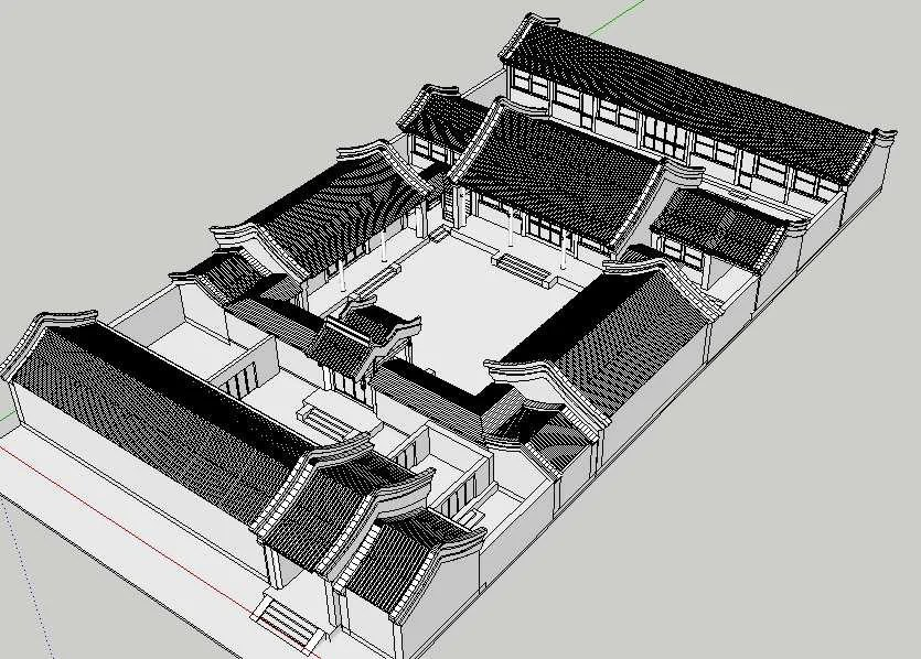 20 Kinds of Chinese Landscape Sketchup Models(Best Recommanded!!)