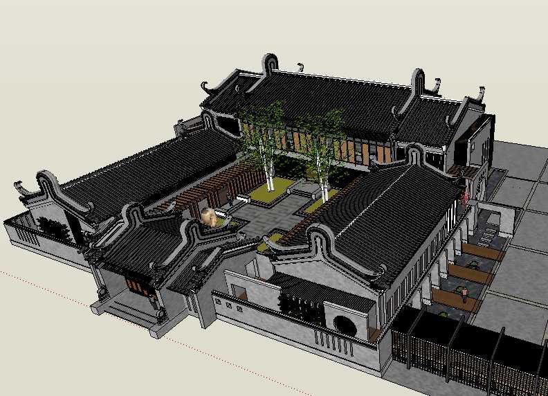 20 Kinds of Chinese Landscape Sketchup Models(Best Recommanded!!)