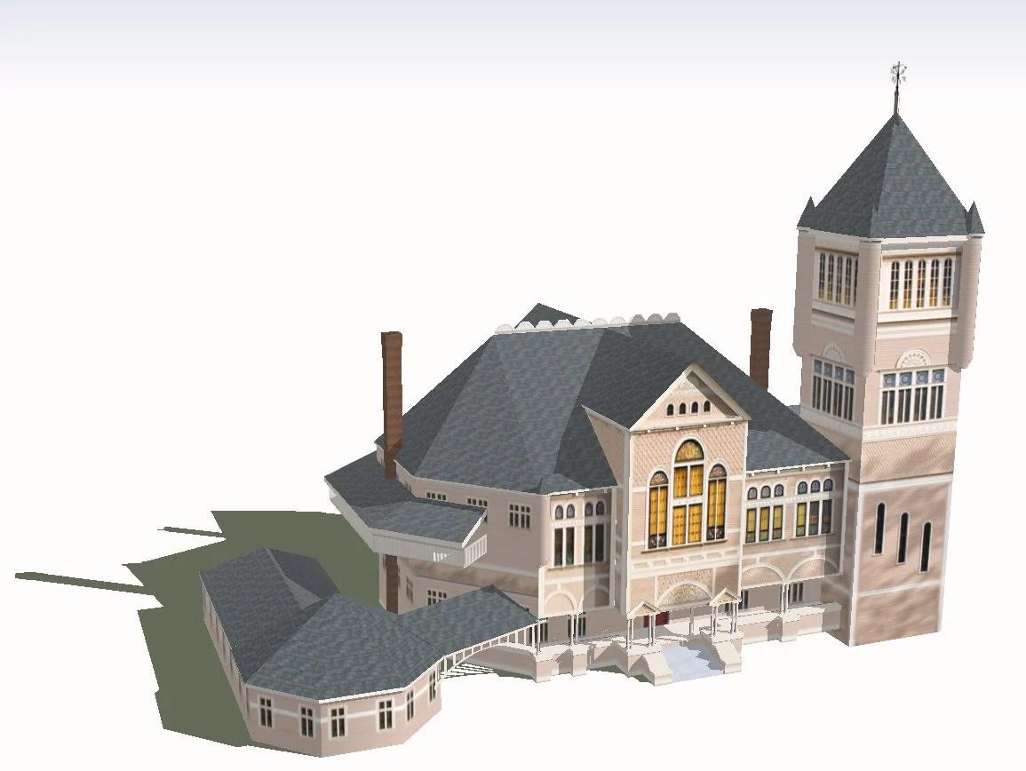 【Download 15 Culture Center Sketchup Models】 (Recommanded!!)