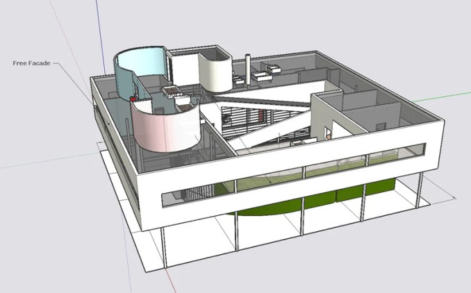 Types Of Le Corbusier Architecture Sketchup D ModelsRecommanded