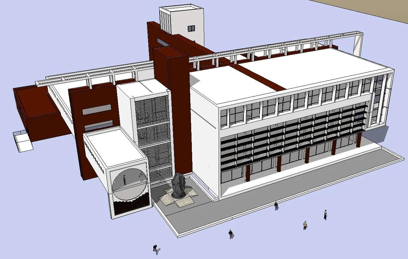 Download 15 Library Sketchup 3D Models(*.skp file format).