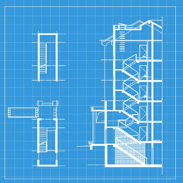 Free Stair Elevation Cad 2 CAD Design Free CAD Blocks