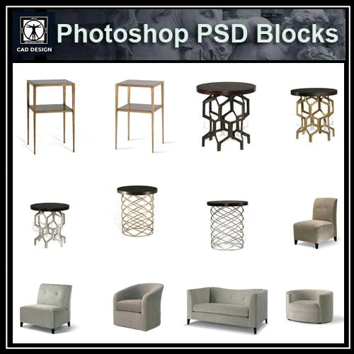 Blocks Office Cad Furniture 2d
