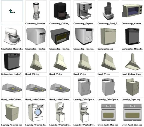 Sketchup models download