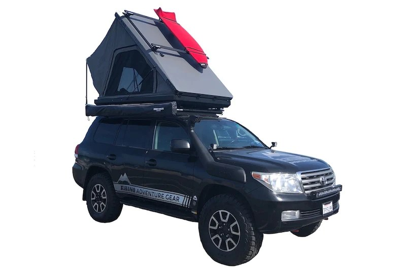 camp king industries camp king aluminum roof top tent