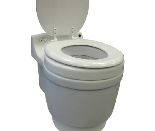 Dry Flush Laveo Camping Toilet That Is Portable Waterless Odorless And Chemical Free