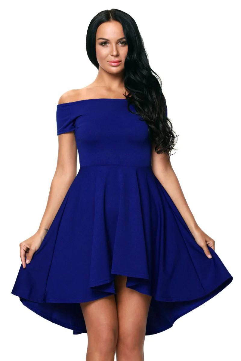Blue Low Silver Dresses And Black Hi