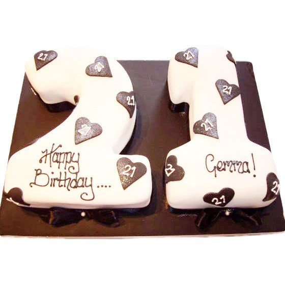 21st Birthday Cake Buy Online Free UK Delivery New Cakes