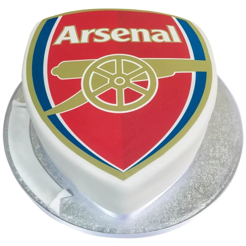 Arsenal Football Badge Cake Buy Online Free UK