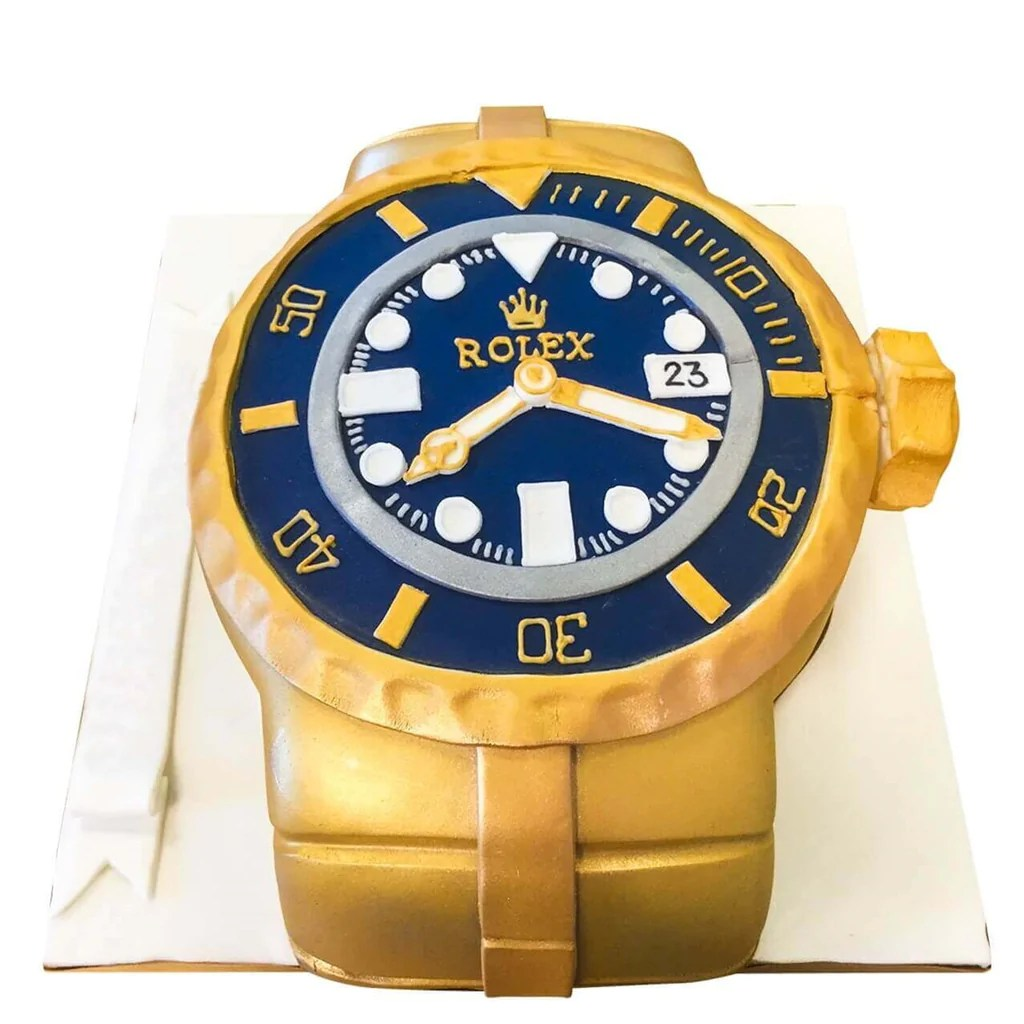 Rolex Watch Cake Buy Online Free Uk Delivery New Cakes
