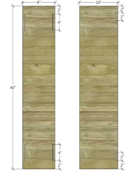 hanging belt shelf graphic plan