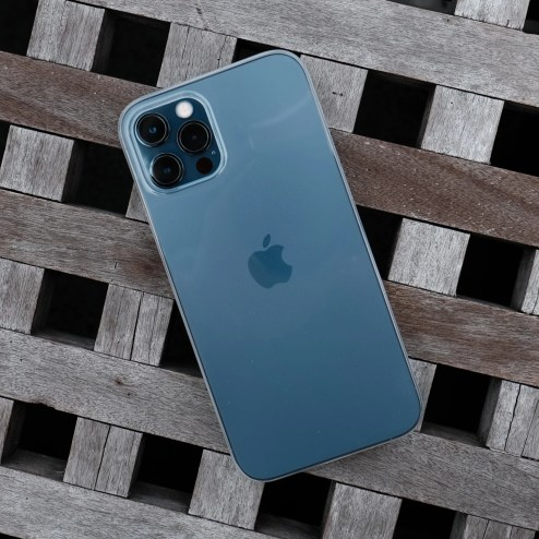 Bare Naked EX - Thinnest Clear Case for iPhone 12 Pro and iPhone 12 Pro Max - Clear