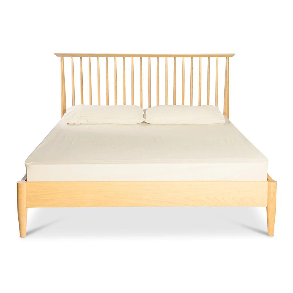 Jakob Scandinavian Wooden Queen Bed The Design Edit
