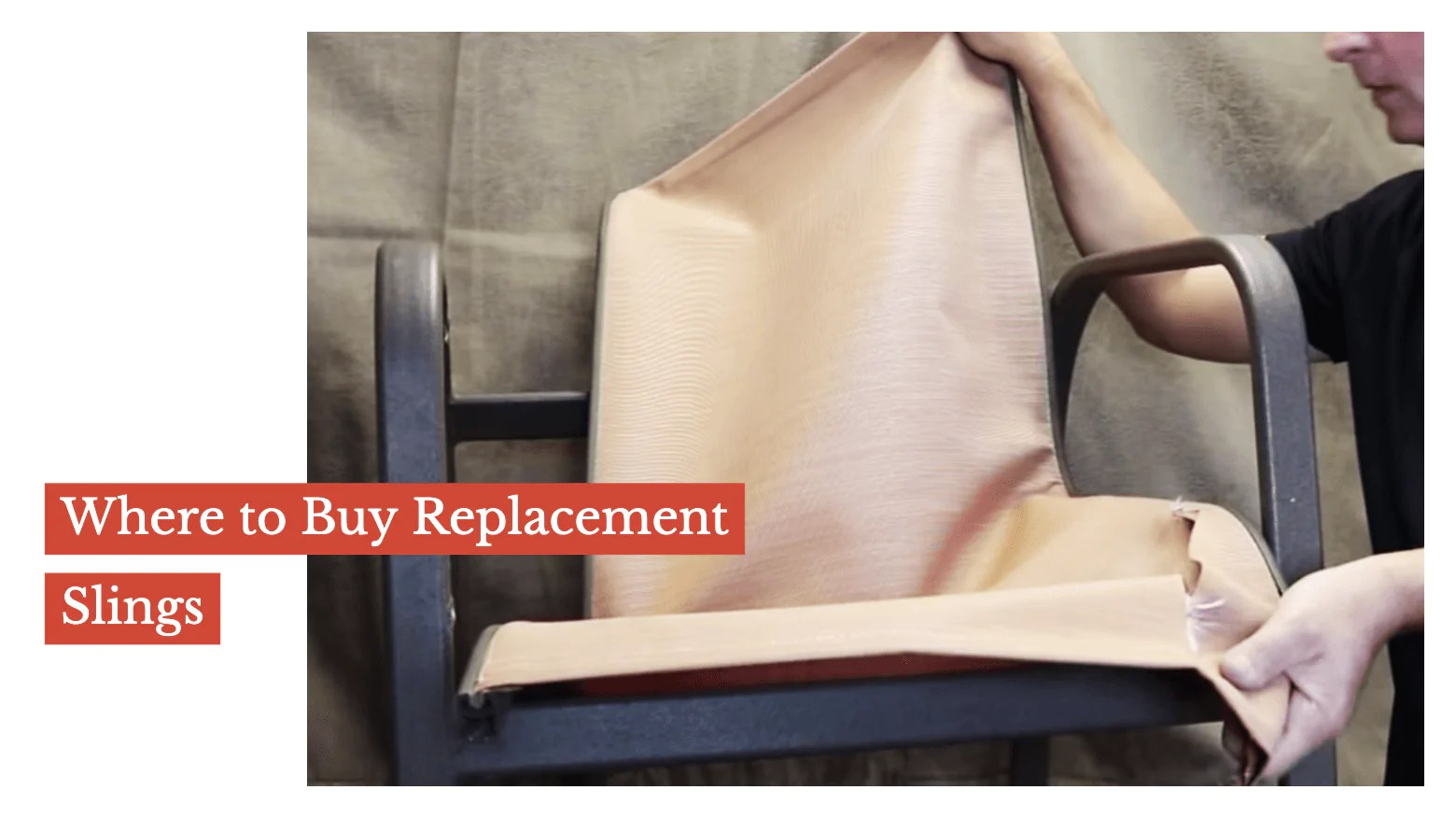 where to buy replacement slings