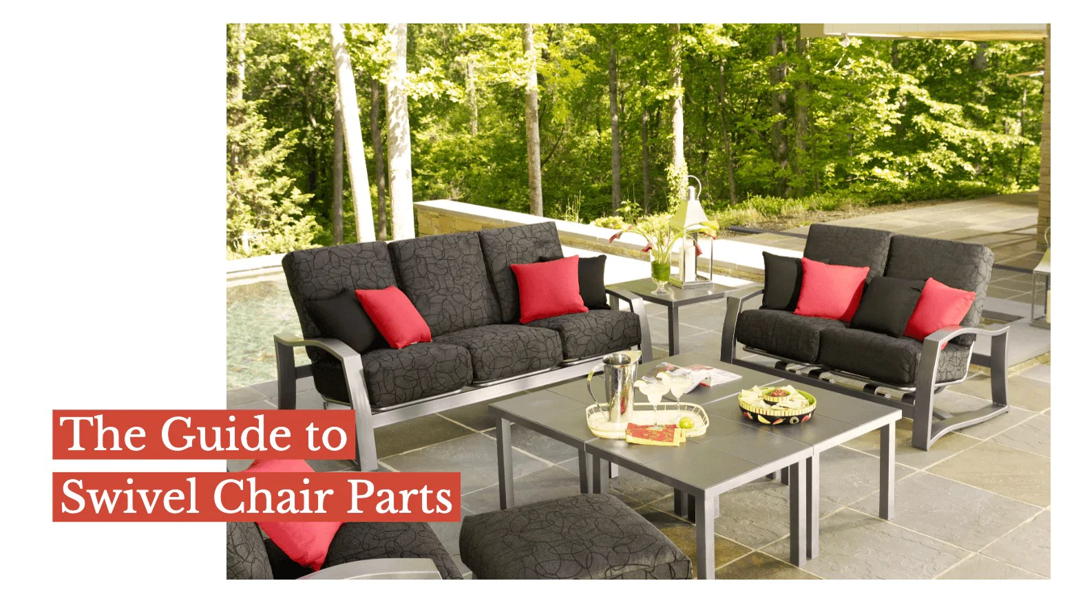 the guide to swivel chair parts