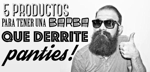 productos para barba