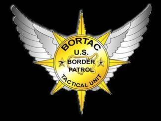 "BORTAC"" Border Patrol Wrist Wrap – Memorial Wraps"