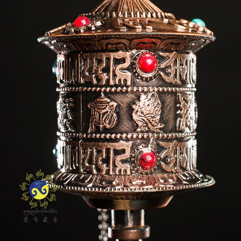 西藏手持轉經輪 – 藏遇文化傳播 Tsurphu Tibetan Incense