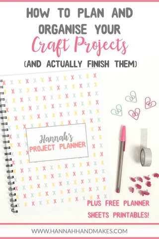 How To Plan Your Craft Projects And Actually Finish Them Pinterest Photo