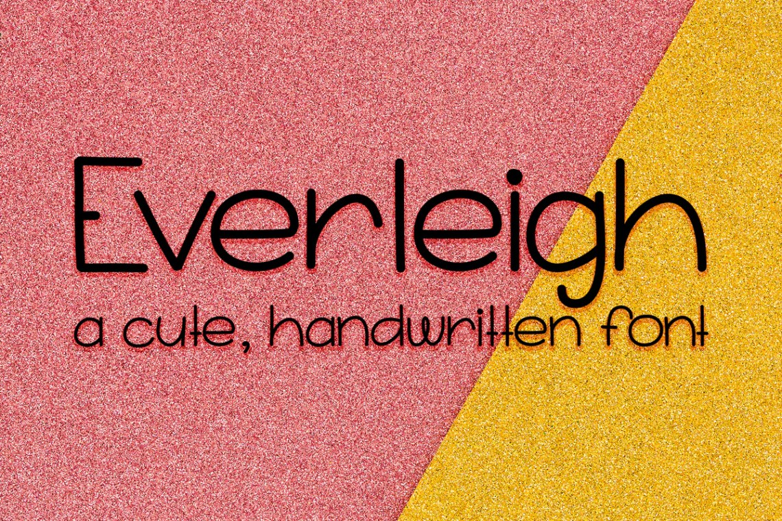 Download Everleigh Handwritten Font - Scout and Rose Design Co